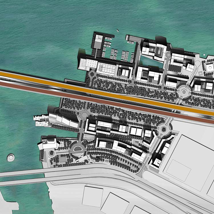Zayed Bay Masterplan